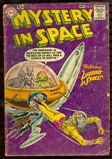 DC Comics Mystery in Space 40 GD Condition