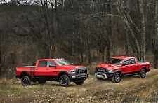 2017 Dodge Ram Power Wagons red 24X36 inch poster, sports car, muscle car