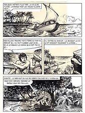 TAROU CONTRE LES SOLDATS JAPONAIS (BOB DAN) PLANCHE ORIGINALE AREDIT  PAGE 26
