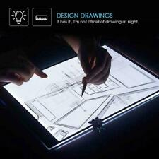LED Tracing Light Box Board Art Tattoo A5 Drawing Copy Pad Table Stencil Display