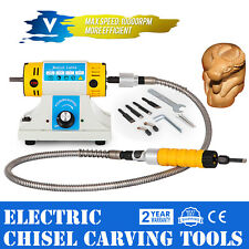 Electric Machine Carving Woodworking Carving Chisel Tool With 4 Carving Blades