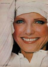 1976 COVER GIRL & CHERYL TIEGS   : Make up  Magazine  PRINT  AD (2-pg)