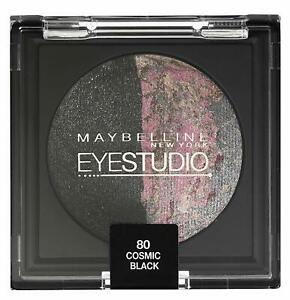 MAYBELLINE NEW YORK EYESTUDIO EYESHADOW 80 COSMIC BLACK ( BLACK/PINK )