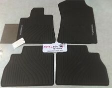 Toyota Tundra 2010 - 2011 4-Piece All Weather Rubber Floor Mats Genuine OEM OE
