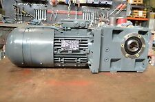 Lenze GKS06-3M HAR 112022 Gearbox with Motor 240 RPM with Encoder