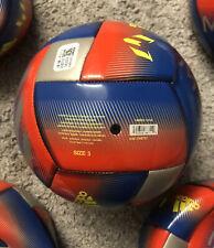Adidas Messi Capitano Soccer Ball Football Blue Silver Metallic Dn8737 Size 3