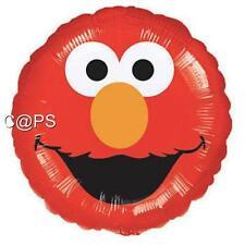 1 x Large Elmo...Sesame Street...Round Foil Balloon...Helium or Air