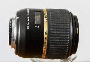 Exc+++ Tamron 60mm F2 DI SP 1:1 Macro Lens for Nikon AF DSLR DX Cameras