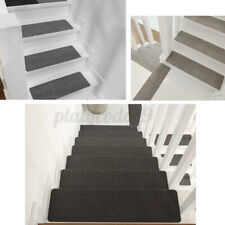 Non-Slip 14PCS Stair Tread Carpet Step Staircase Mat Protection Cover Home Xmas