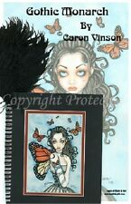 Monarch Butterfly Fairy Journal Quill Diary Blank Book Faery Wicca Bos Girl