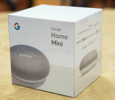 Google Home Mini - FREE TRACKABLE SHIPPING! Chalk (BRAND NEW) Sealed!