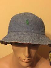 Polo Ralph Lauren Hat Large / Xlarge bucket hat summer Beach Hat