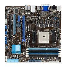 ASUS F1A55-M/CSM AMD Socket FM1 HDMI DDR3 USB 3.0 UEFI Micro ATX Motherboard