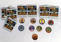 MCDonalds 1994 Mighty Morphin Power Rangers Power Coin Packs Lot Of 9 Cardboard