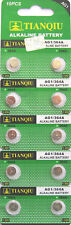 10X New AG1 LR60 SR621 SR621SW, 364  1.5V Alkaline Cell Button Batteries 2020