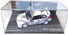 1:43 TOYOTA Corolla WRC RALLY DE CORSE 2000 LOEB - IXO MODEL CAR DIECAST SCALE