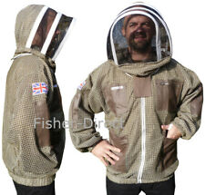 🐝Bee Jacket 3 Layer Ultra Ventilated Green Beekeeping Jacket bee suit
