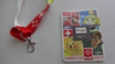 Nintendo There's No Play Like It  Promo Exclusive 3DS Lanyard & Card Zelda