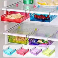 Fridge Space Saver Storage Slide Under Shelf Rack Organizer Drawer Kitchen U