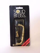 """Solid Brass Spindle Style Drawer Pull 3 1/2"""" Center- NEW in the original package"""