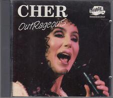 Cher : Outrageous RARE CD FASTPOST