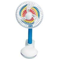 Kel Gar Pinwheel Buggy Fan - Pram Baby Stroller Clip High Chair Cool Breeze