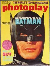 PHOTOPLAY-BATMAN-1967 UK-ADAM WEST-RAQUEL WELCH-007-ROGER MOORE~BRANDO~LOREN