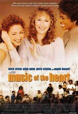 """MUSIC OF THE HEART Double Sided Original Movie Poster 27""""x 40"""""""