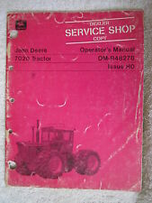 John Deere 7020 Tractor Operators Manual
