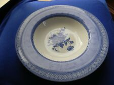 """CHURCHILL ' OUT OF THE BLUE ' 9"""" SOUP PLATE"""