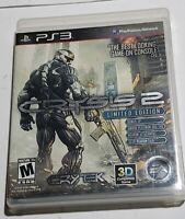 Crysis 2 -- Limited Edition (Sony PlayStation 3 PS3, 2011) CIB