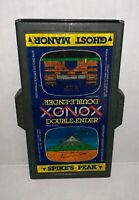 Atari 2600 VCS Xonox Ghost Manor/Spikes Peak Double-Ender Cartridge - Tested!!