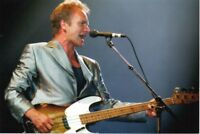STING PHOTO 1996 HUGE UNIQUE EXCLUSIVE IMAGE UNRELEASED 12 INCH  LONDON RARITY