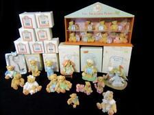 Enesco Cherished Tiny Treasured Teddies Store Display + 21 Teddy ~12 in Box bear