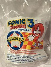 """McDonald Happy Meal Toy Sonic the Hedgehog """"Dr Ivo Knuckles 1993 Sega Retro Game"""