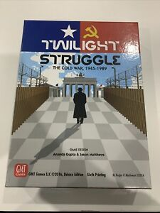 Twilight Struggle: The Cold War, 1945-1989; Deluxe Edition, 6th Print - As New