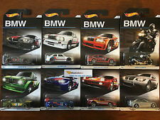 2016 Hot Wheels * BMW 100th Anniversary Set * Complete Set of 8 Cars * G