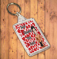 Sexy Hunk Keyring - Fun Rude Gift For The Roger Moore / James Bond Admirer / Fan