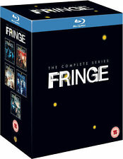 THE FRINGE SEASONS 1-5 SERIES COMPLETE BLU RAY BOX SET NEW UK 1 2 3 4 5
