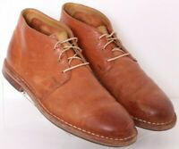Cole Haan C13189 Glen Brown Distressed Leather Desert Chukka Boots Men's US 9.5M