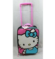 "Licensed Sanrio Hello Kitty® Rolling Suitcase 18""(H) x 12""(W) x 5.5""(D)"