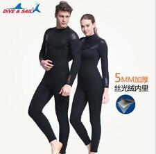 Men WOMEN 5mm SCR Hooded Diving Suit Sleeveless Wetsuit Watersports Surf Sailing