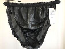 Vintage Nancy King 100% Nylon Hipster Bikini Panties 6 Medium NWT USA