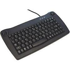 HP UK PS2 keyboard met trackball