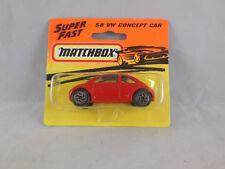 Matchbox Superfast MB - 58 VW Concept Car in Red  Made in Thailand 1993