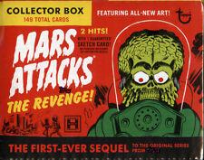 2017 Topps Mars Attacks Revenge hobby sealed trading card 8-box case