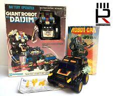 Vintage Original 1980s Yonezawa Corp DAIJIM & KO Bootleg ROBOT-CAR Lot! Wow!