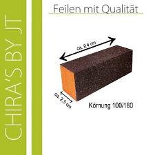 3 Profistudiobuffer Orange Weltmeisterqualität Körnung 100/100 Top Markenware