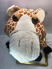 "Hug & Luv Jungle Snubbies Giraffe 20"" Big Head Doll & Eyes Plush Stuffed Animal"