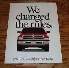 Original 1999 Dodge Ram Pickup Truck Sales Brochure 99